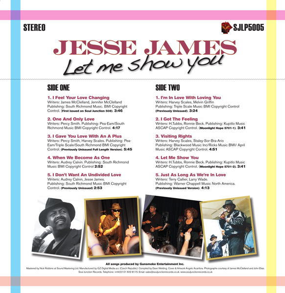Jesse James - Let Me Show You