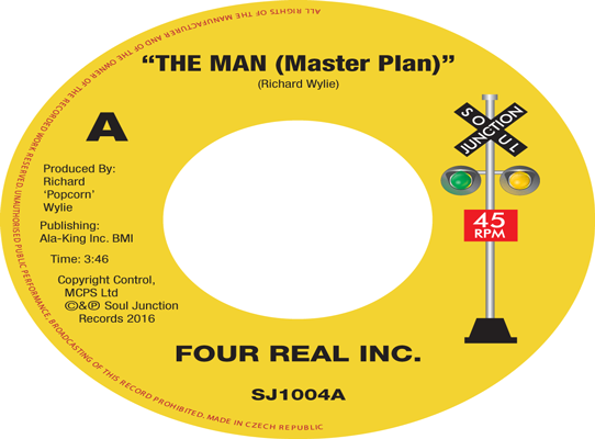 Four Real Inc. - The Man (Master Plan)