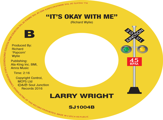 Larry Wright - It's Okay With Me