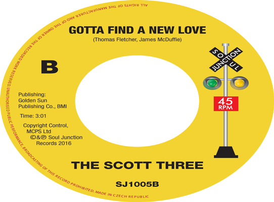 The Scott Three - Gotta Find A New Love
