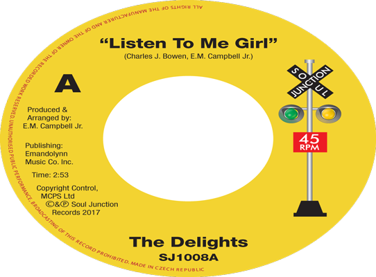 The Delights - Listen To Me Girl