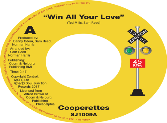 The Cooperettes/The Toppiks - Win All Your Love