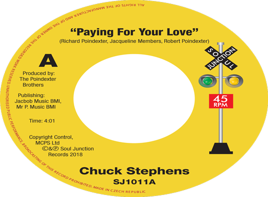 Chuck Stephens - Paying For Your Love