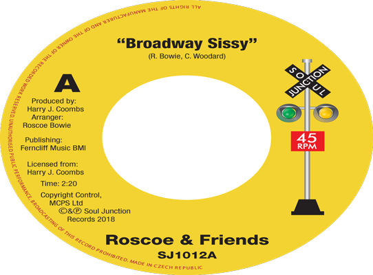 Roscoe & Friends - Broadway Sissy b/w Tojo - Broken Hearted Lover