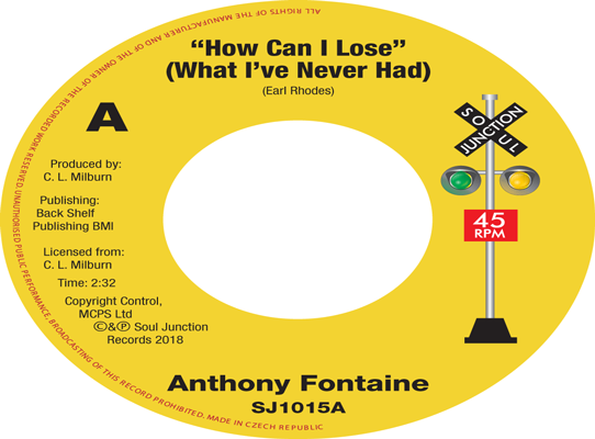 Anthony Fontaine - How Can I Lose (What I Never Had)