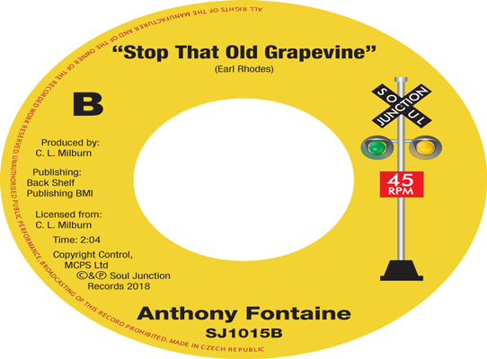 Anthony Fontaine - Stop That Old Grapevine