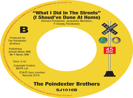 The Poindexter Brothers - What I Did In The Streets (I Should Have Done At Home)