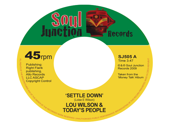 Lou Wilson & Today's People - Settle Down