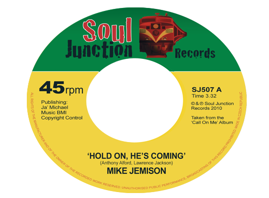 Mike Jemison - Hold On, He's Coming