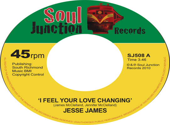 Jesse James - I Feel Your Love Changing