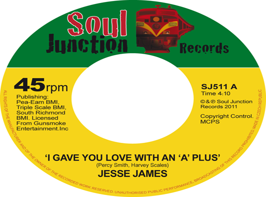 Jesse James - I Gave You Love With An 'A' Plus