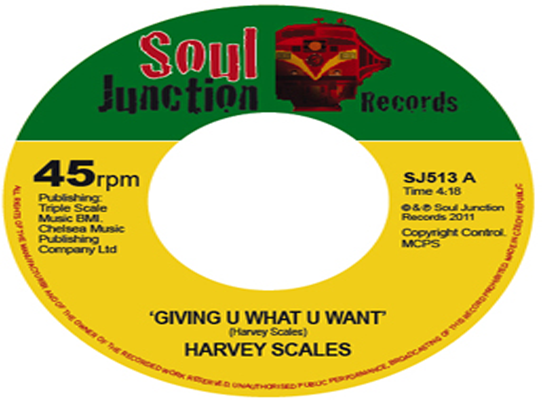 Harvey Scales - Giving U What U Want