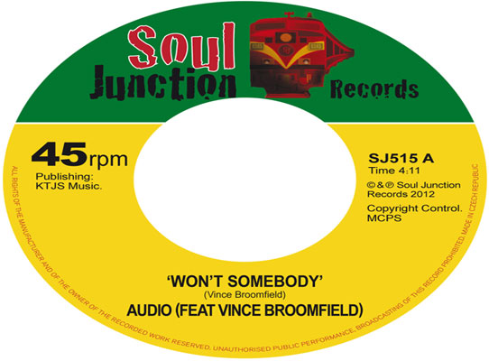 Audio (ft Vince Broomfield) - Won't Somebody