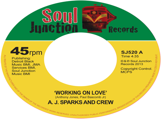 A.J. Sparks & Crew - Working On Love