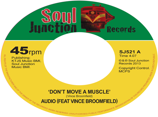 Audio (Ft Vince Broomfield) - Don't Move A Muscle