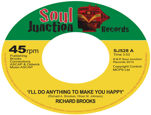 Richard Brooks - I'll Do Anything To Make You Happy