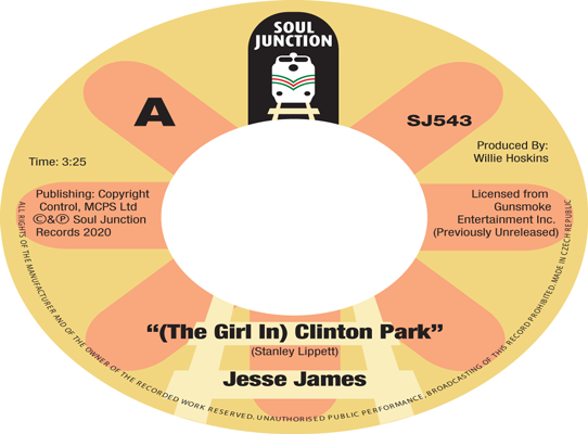 Jesse James - (The Girl In) Clinton Park