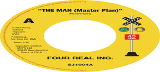 Four Real Inc. - The Man (Master Plan) / Larry Wright - It's Okay With Me