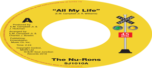 The Nu-Rons - All My Life