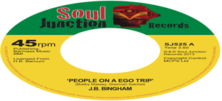 J.B. Bingham - People On A Ego Trip