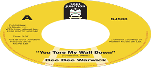 Dee Dee Warwick - You Tore My Wall Down